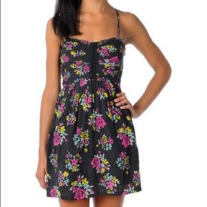 Billabong Portland Floral Dress Sz Medium